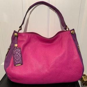orYANY Kerry Leather Shoulder Hobo Bag EUC